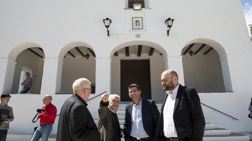 Jorge Rodríguez ha visitat les dependències d'Agullent