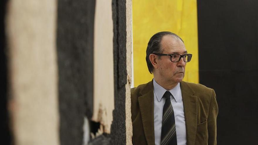 Rafael Canogar retrata a Felipe VI para la Academia de Bellas Artes