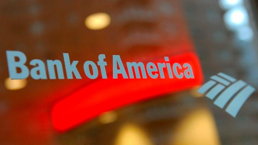 Crecen un 19 % los beneficios netos de Bank of America