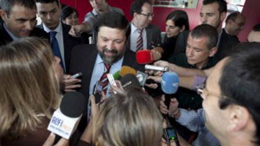 El ministro de Justicia, Francisco Caamaño. (ACN PRESS)