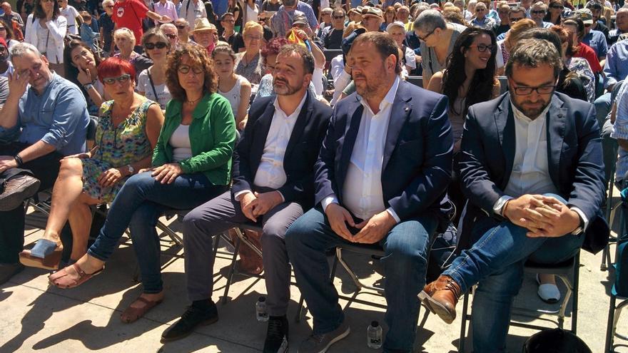 """Junqueras dice que la opinión de los catalanes """"importa un rábano"""" a quienes impiden el referéndum"""