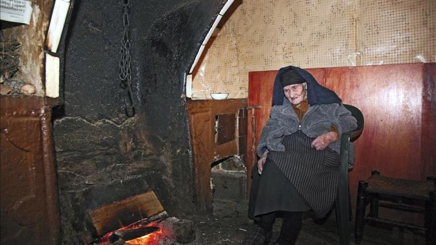 La Tía Gora cumple 109 años en Peñaparda (Salamanca) y no le duele nada