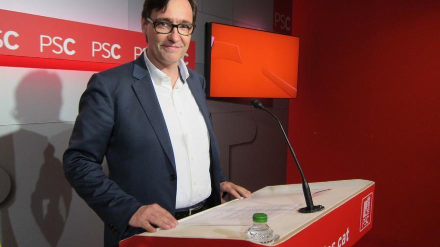 """El PSC ve """"dejadez en las funciones"""" de Puigdemont si no participa en la reunión de presidentes"""