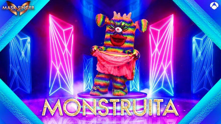 Así es Monstruita, la séptima máscara de 'Mask Singer 2'