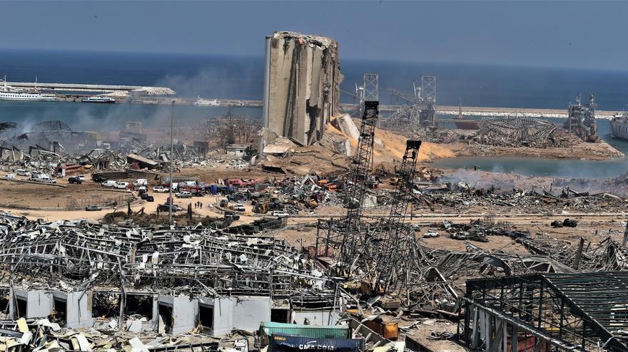 Líbano extiende un mes el estado de emergencia en Beirut por la explosión
