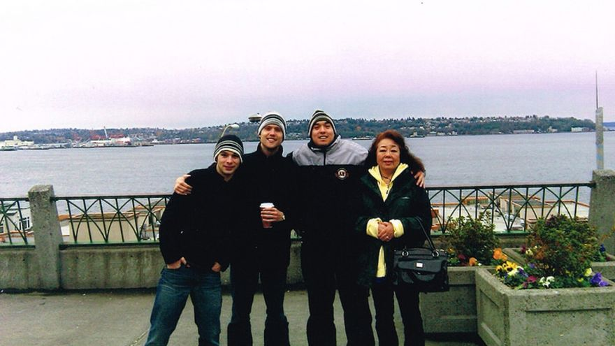 Alex Nieto y unos amigos de paseo por San Francisco. Foto: Justice4AlexNieto