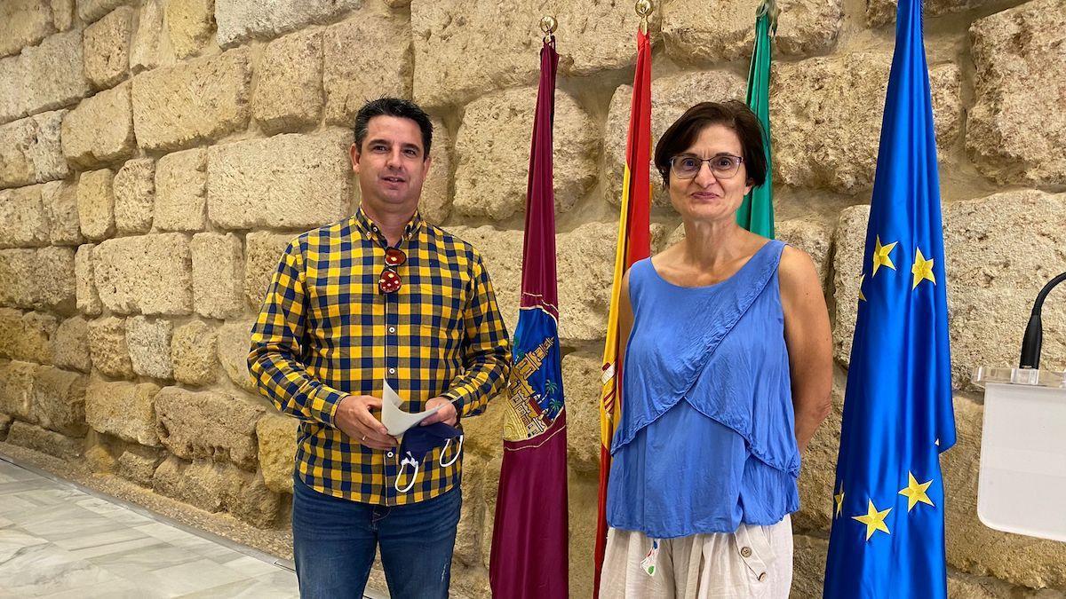 Pedro García y Amparo Pernichi.