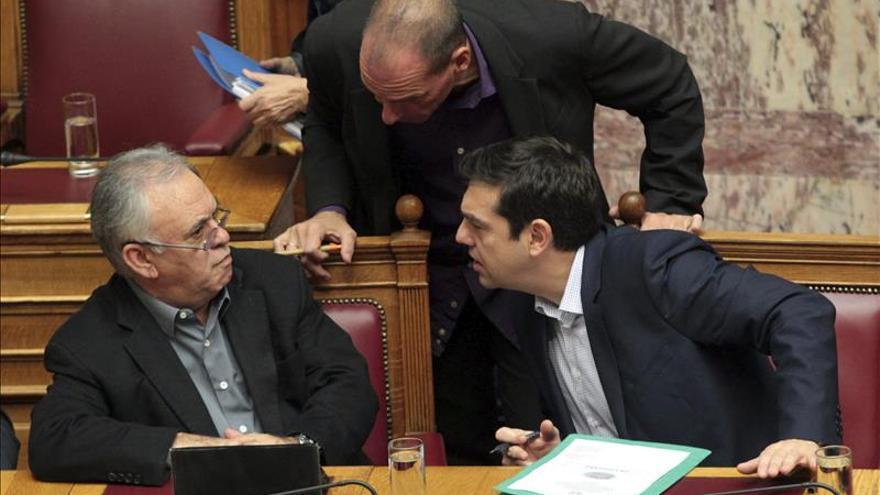 """Varufakis afirma que no existe """"ningún conflicto"""" con los socios europeos"""
