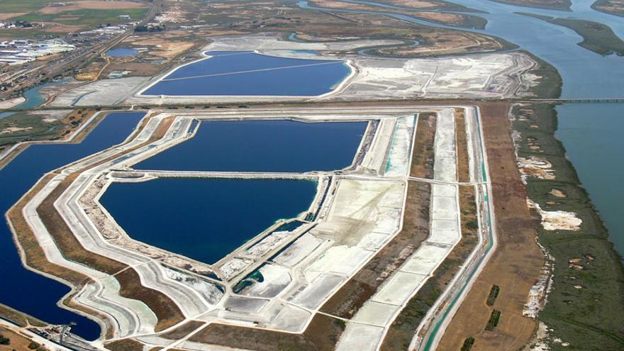 Balsas de fosfoyesos de Huelva