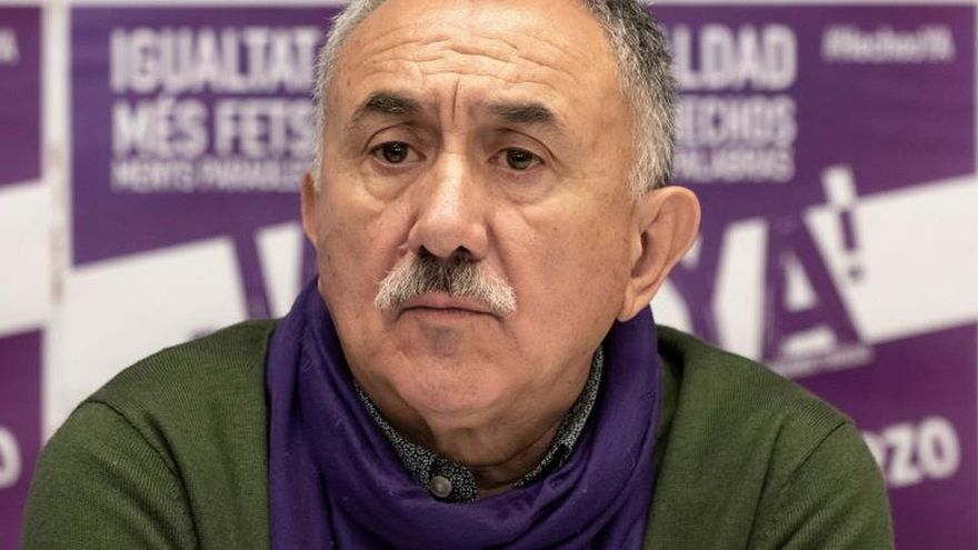 Álvarez (UGT): Somos más exigentes al gobernar la izquierda que la derecha