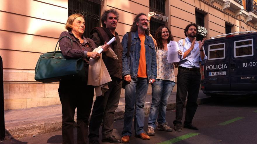 Cinco de los imputados, ya fuera de la Audiencia Nacional / H. Juanatey