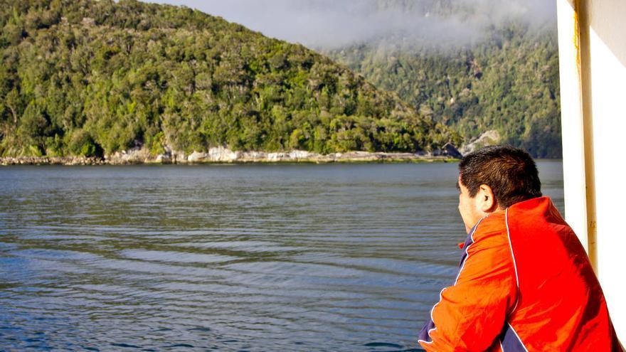 Islas en la costa de la Patagonia chilena. VIAJAR AHORA