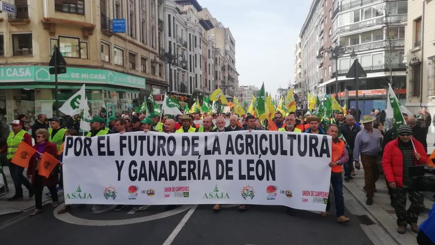 Las organizaciones agrarias se unen en León