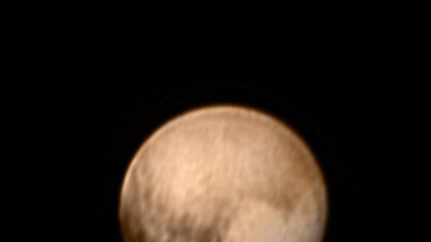 Imagen de Plutón. Crédito: NASA-JHUAPL-SWRI.