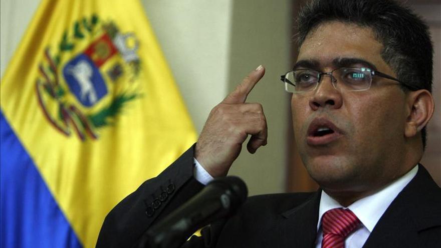 Jaua asegura que en Venezuela no hay crisis política sino plena estabilidad