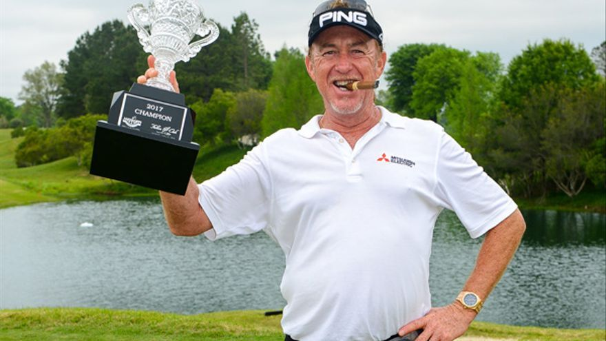 Miguel Ángel Jiménez sigue triunfando con su gran golf