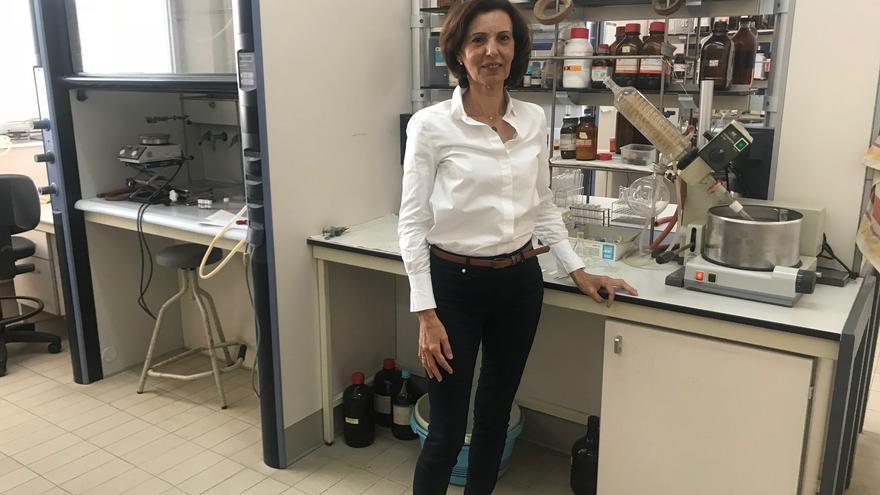La palmera María del Mar Afonso Rodríguez es doctora en Química y profesora titular del Departamento de Química Orgánica de la Universidad de La Laguna.