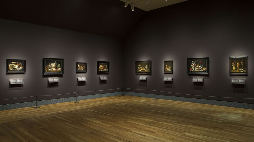"""Imagen de la exposición """"El arte de Clara Peeters""""/ Museo del Prado"""