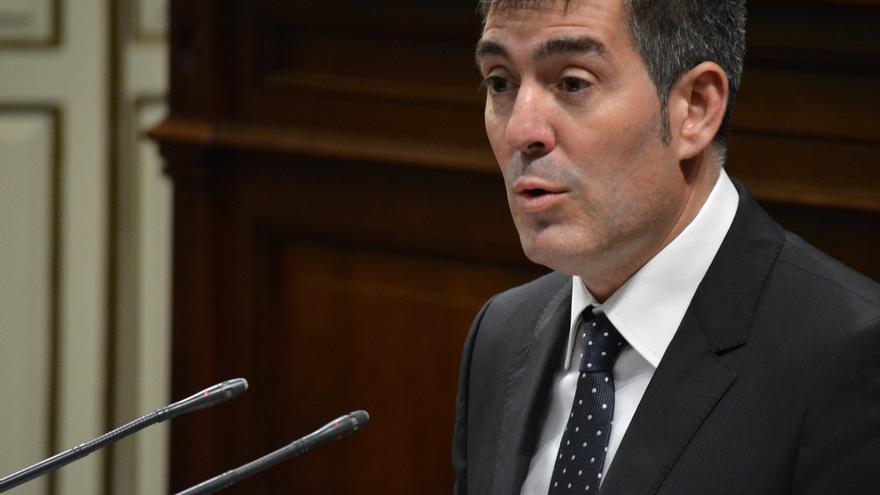 """Clavijo dice que los PGE """"hacen justicia por primera vez"""" con Canarias"""