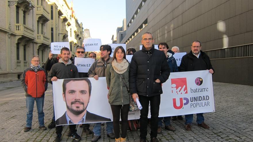"""Unidad Popular defiende que se debe """"descartar de raíz el recurso a la guerra"""" contra las agresiones yihadistas"""