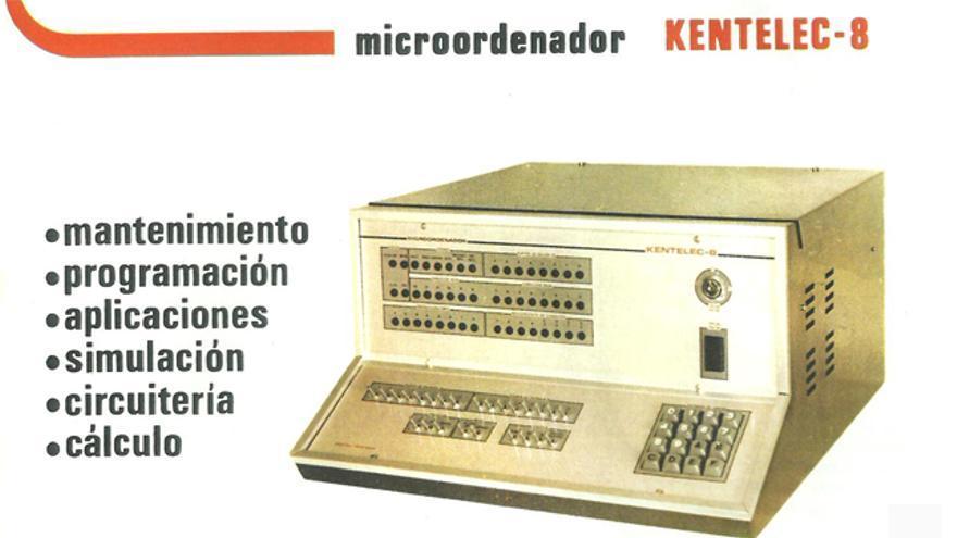 El Kentelec-8 era un micrordenador concebido para enseñar informática