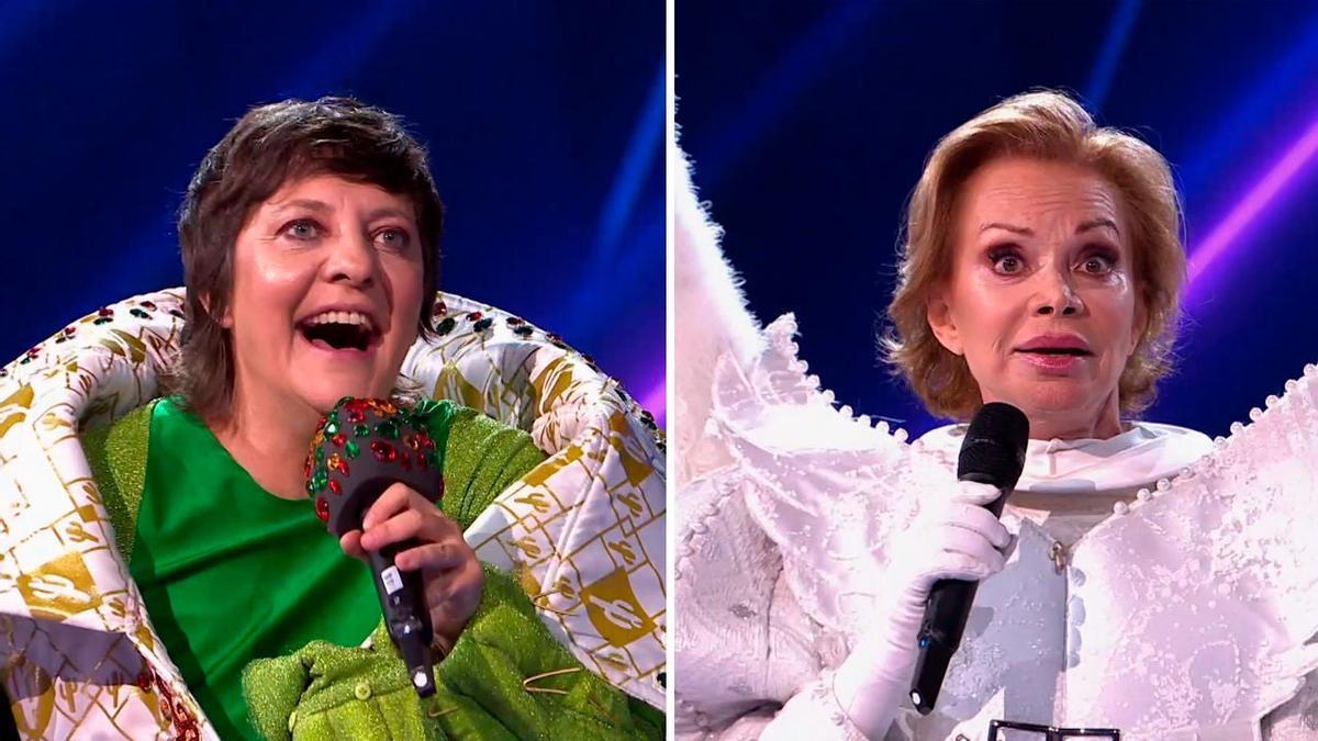Eva Hache y Paloma San Basilio, en 'Mask Singer 2'