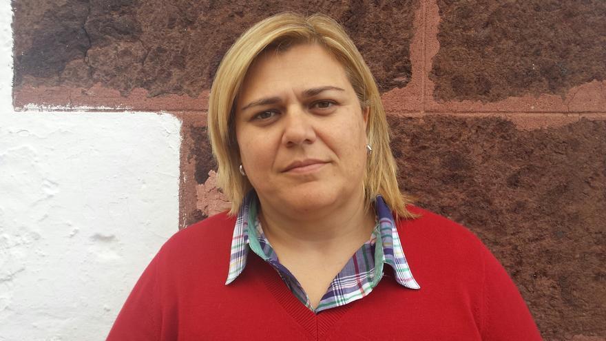 Noelia García Leal, portavoz del PP en el Ayuntamiento de Los Llanos de Aridane.