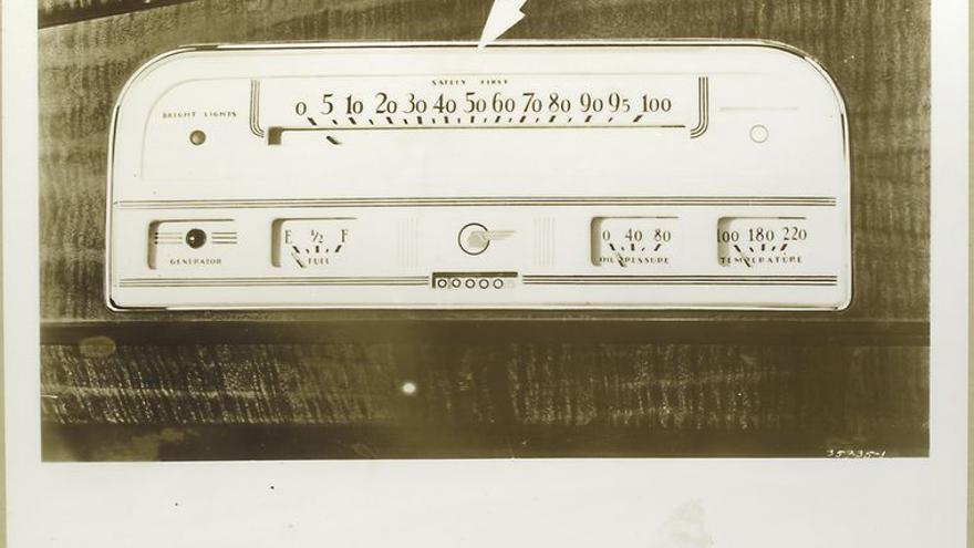 1937 Pontiac-Speedometer | New York Library.