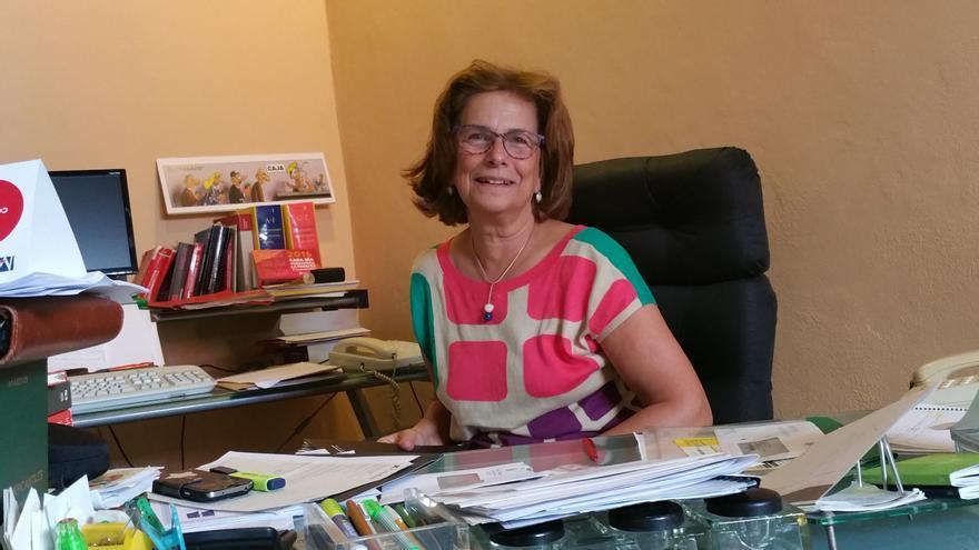 Milagros Fuentes es una defensora de los derechos de la mujer. Foto: LUZ RODRÍGUEZ.