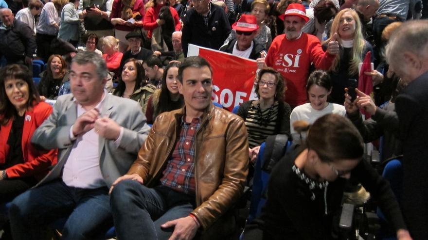 La Plataforma de apoyo a Pedro Sánchez realiza este sábado en Palma su acto de presentación