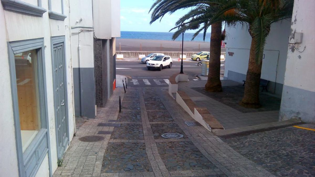 Calle Baltasar Martín, en Santa Cruz de La Palma.