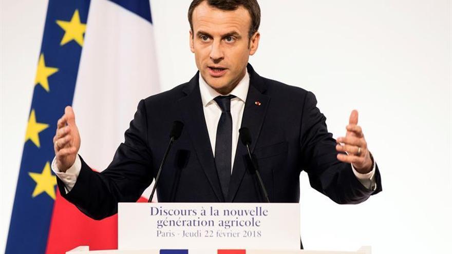 """Macron defiende el acuerdo UE-Mercosur, pero con sus """"líneas rojas"""""""