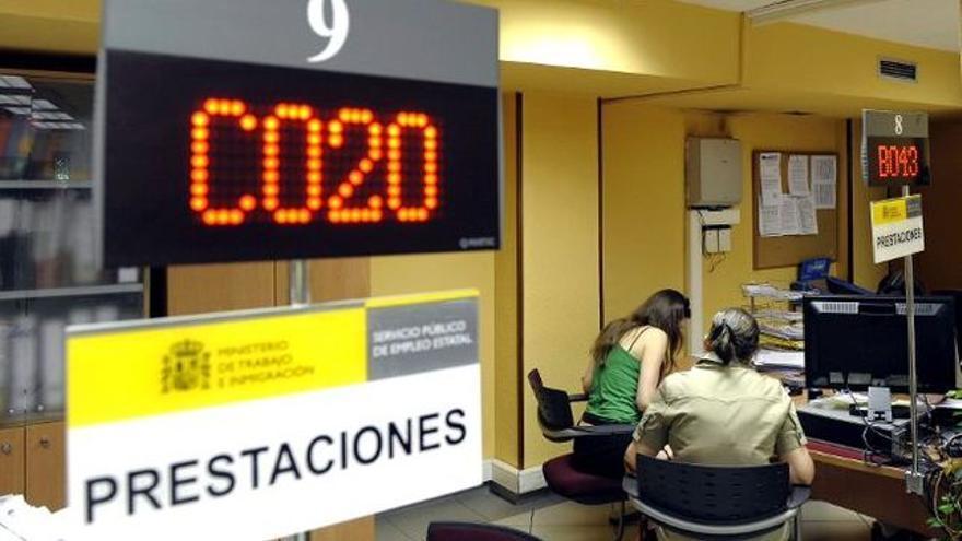 Oficina pública de empleo, en una imagen de archivo