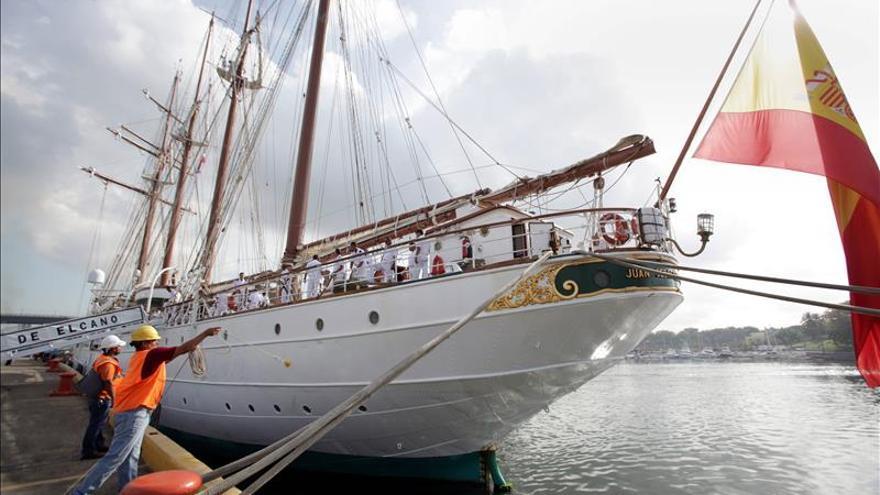 Detenidos dos miembros más de la tripulación de Elcano por tráfico de drogas