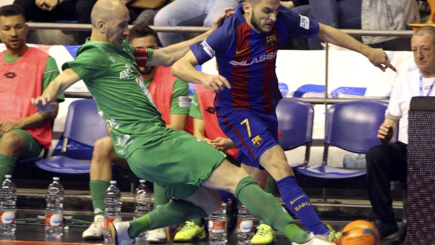 El Magna Gurpea superó a los azulgranas en la tanda de penaltis.