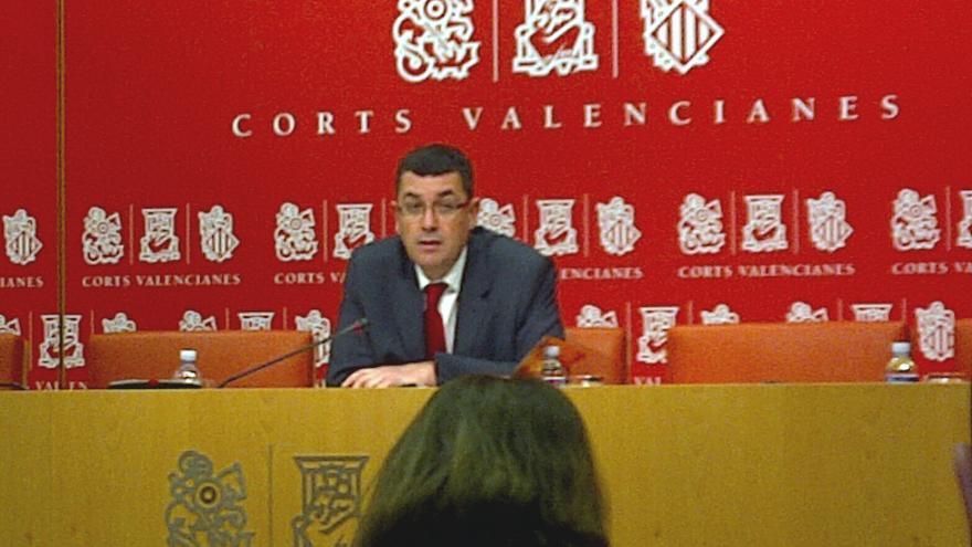 Enric Morera, portavoz de Coalició Compromís en Les Corts