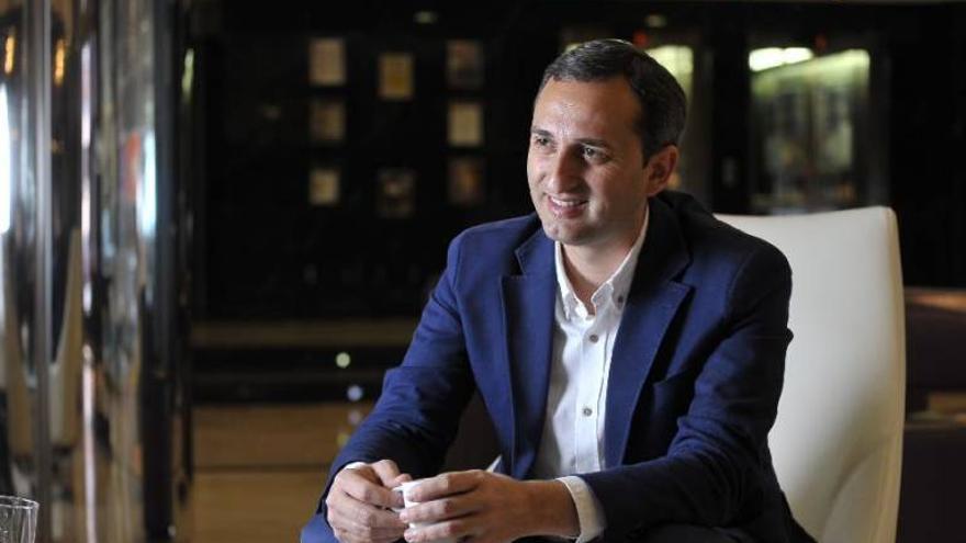 El alcalde de Calp y presidente de la Diputación de Alicante, el popular César Sánchez