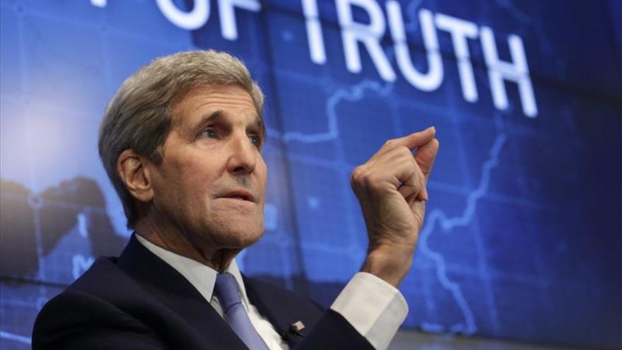Kerry viaja mañana a Emiratos Árabes Unidos, Israel y Cisjordania