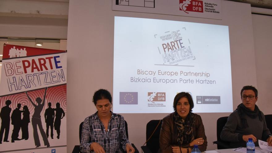 Un total de 81 jóvenes de Bizkaia toman parte en el proyecto europeo de participación y empoderamiento 'Be Part'