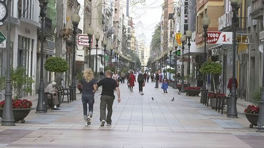 Calle Mayor de Triana.