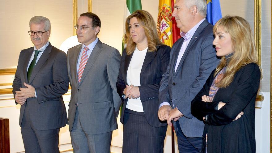 """Díaz se reunirá este martes con CEA, CCOO y UGT para """"echar a andar en un nuevo modelo"""" que genere empleo de """"calidad"""""""