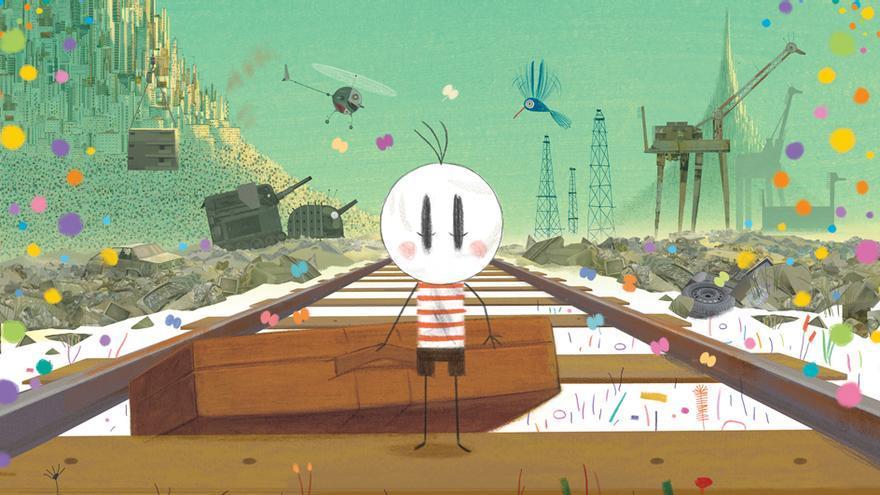 La película de animación 'O menino e o mundo'.