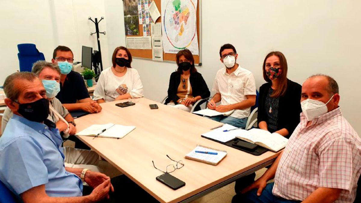 Reunión sobre el Plan de Transformación Social de Zonas Desfavorecidas de Córdoba.