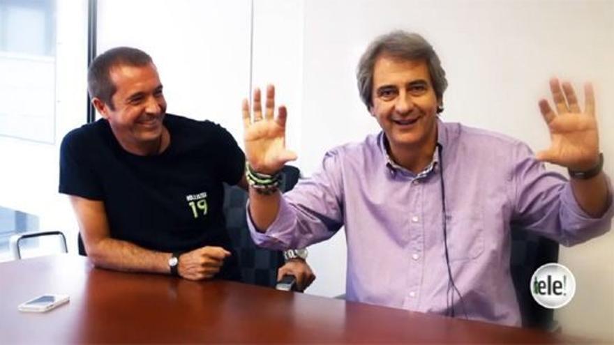 """Los Manolos: """"¿Que hablamos solo de Madrid y Barça?... como Vertele de Antena 3 y Tele 5"""""""