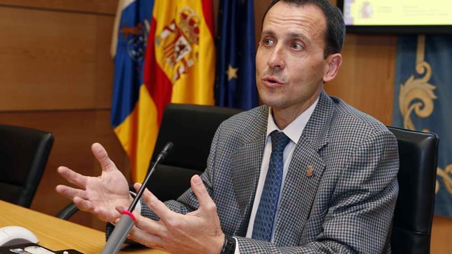El delegado territorial de la Agencia Estatal de Meteorología en Canarias (AEMET), Jesús Agüera