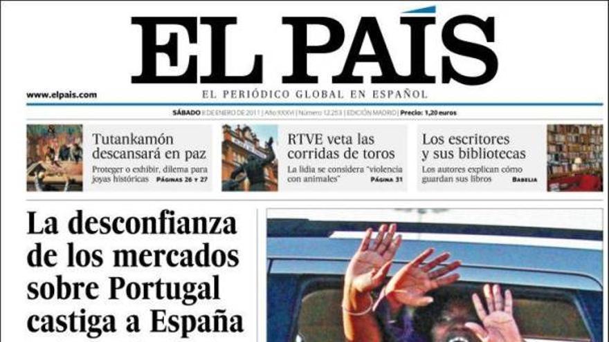 De las portadas del día (08/01/2011) #7