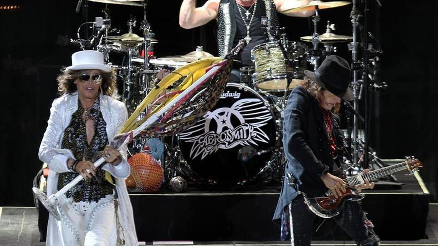 Aerosmith cierra en Tenerife su gira europea de despedida de los escenarios