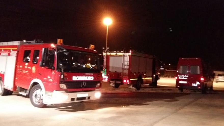 Los servicios de Emergencia acudieron de inmediato al lugar de los hechos