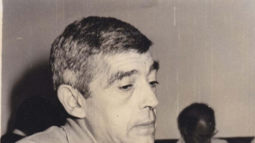 Tomás Tueros, fundador de Comisiones Obreras en Euskadi (Foto de la Fundación José Unanue).