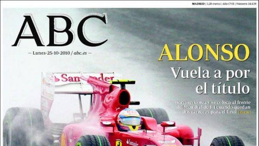 De las portadas del día (25/10/2010) #6